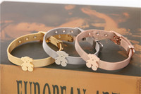 Wholesale Charm Belts - TS Stainless Steel Charm Bracelet Bear Jewelry High Quality 3 colors belt women bracelet