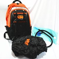 Wholesale Reflective Bag Cover - New 2015 KTM Motocross Backpack shoulders reflective motorcycle racing package cycling riding bag & Water bag & rain cover