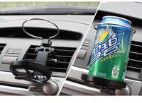 Wholesale Cup Holder Van - 250pcs Wholesale Universal Folding Air Conditioning Inlet Auto Car Drink Holder Car Beverage Bottle Cup Car Frame for Truck Van Drink ZA0304