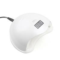 tırnak kurutma lambası toptan satış-Sıcak 48 W UV LED Lamba Tırnak Kurutucu SUN5 Tırnak Lambası LCD Ekran Ile Otomatik Sensör Kür UV Jel Lehçe için Manikür Makinesi