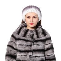 Wholesale Ear Hook Loop - Winter women fur headbands knitted rex rabbit fur neckwear for women real fur head wrap ear warmer 2016 newest fashion hairband