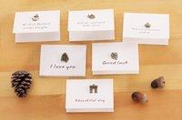 Wholesale Birthday Wishes Samples - Creative art vintage dusty memory mini card birthday card postcard greeting card