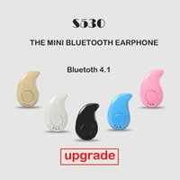 Wholesale Running Wireless Bluetooth Headphones - Sport Running S530 Mini Stealth Wireless Bluetooth 4.1 upgrade version Stereo Headphones music Headset for iphoneX iphone 8 For NOTE8