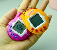 Wholesale Toy Electronic Pets - 2017 Hot Sell Electronic Kids Toys Beyblade Christmas Gifts Retro Virtual Pet 49 In 1 Cyber Pets Animals Toys Funny Tamagotchi Kids