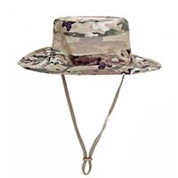 Wholesale Sniper Tactical Camouflage - new high quality Airsoft Sniper Camouflage Boonie Hats, Tactical Nepalese Cap, army Mens Fishing hat, Outdoor Hiking Accessories, one s