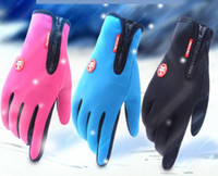 Wholesale Men Touch Micro - Wholesale Free Shipping Cycling Glove Sports Outdoor Mountain Climb Glove Spandex Breathable Mobile Phone Screen Touch Micro Fiber Men DHL