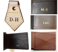 Wholesale Stamped Bag - customer order : hot stamp   hot stamping your initials on your bag or wallet .