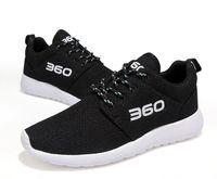 Wholesale Korean Summer Shoes Men - 2017 summer new breathable 360 men 's shoes Korean version of the net cloth casual shoes women' s sports running shoes Couple shoes