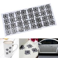 32 Bullet Hole Orifice Autocollant Autocollant Graphique Shothole Casque de voiture Windows M00113 CAD