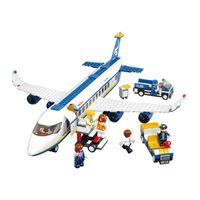 Wholesale Airport Toys - Educational Toy 483pcs air plane passenger airport building blocks Toy bricks boy toy 0366 building blocks