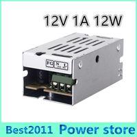 spannungsschalter netzteil groihandel-12W 12V 1A Schaltnetzteil Schalttreiber Adapter Spannungswandler für LED-Lichtleiste Display 110V / 220V