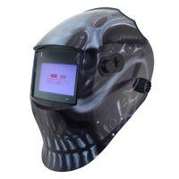Wholesale Mma Caps - Out adjust Big view eara 4 arc sensor grinding cutting Solar auto darkening TIG MIG MMA welding mask helmet welder cap face mask