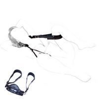 Wholesale leg harness sex - Open Leg Restraint Bondage Body Harness Sex Combination Sexual Position Fetish Bondage Slave Belt For Couple Leather Sex Product 171001