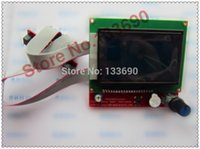 Wholesale Display 12864 - Wholesale-Hot Sale 3D Printer Kit Smart Parts RAMPS 1.4 Controller Control Panel LCD 12864 Display Monitor Motherboard Blue Screen Module