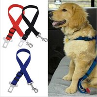 Wholesale Cheap Leashes For Dogs - High Quanlity Cheap Price Adjustable Pet Cat Car Safety Seat Belt Harness Vehicle Seatbelt For Dogs Seat Belt Clip Free Shipping