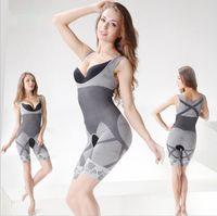 Wholesale Wholesale Body Magic Shaper - hot sale Magic Shapers Underwear Bamboo Charcoal Slimming Suits Bodysuit Body Shaper Shapers dress 3 SizeYYA136
