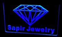 Wholesale New Diamond Neon - Ls212-b Sapir Jewelry Diamond OPEN NEW Neon Light Sign