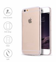 Haute qualité Transparent Ultra fin 0,4 mm TPU Clear Crystal Case Skin Cover Protector Pour iPhone 8 7/7 plus / 7 +