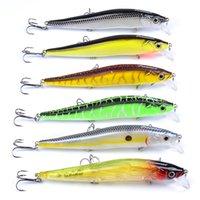 yeni tasarım sert cazibesi toptan satış-6Pcs / lot Yeni Tasarım Boyama Balıkçılık 4.7