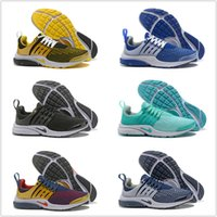 Wholesale New Fabric Lines - Drop Shipping Wholesale Running Shoes Men Presto Low Fly Line Sneakers 2017 New High Quality Cheap Sports Shoes Size 7-12