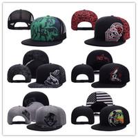 Wholesale Metal Snapback Hats - 2017 new Metal Snapback Hat Snap Back Hat For Men Summer Baseball Cap Mulisha Cheap Fox Hip Hop Hat Adjustable Women Baseball Cap Wholesale