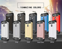 Wholesale Huawei Honor Casing - For Huawei P8 P9 Lite Honor 5A V8 P10 Case Shockproof Dual Layer Protection Armor Built-in Radiating Slot Case Fashion Mobile Phone Coque