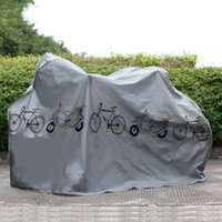Wholesale Rain Cover Protector - UV protector cover dustproof Bike Rain Dust Cover Waterproof Outdoor Gray For Bike Bicycle Cycling free shipping