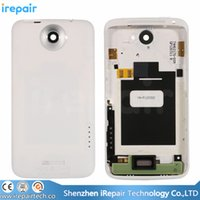 Wholesale One X Housing - iRepair Genuine Original Battery Door Back Cover Full Housing with Buttons for HTC One X G23 S720e Black White