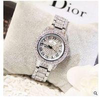 Wholesale Tungsten Watch Diamond - 2016 Arrival Famous Brand Custom Watch Women Luxury Full Austrian Crystals Watch Lady Diamond Rhinestone Watch Bangle Bracelet FA08039