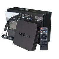 Wholesale Miracast Dual Core - MXQ-4K Android 5.1 TV Box Android RK3229 Quad Core 32bit UHD 4K H.265 HDMI WiFi Miracast DLNA Smart Mini PC Intelligent HD Media Player