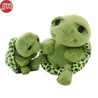 Wholesale Baby Turtle Plush Toy - New Tortoise Plush Doll Turtle Toy Soft Pillow Baby Sleeping Cushion Adorable Peluche Brinquedos Animal Birthday Gift for Kids