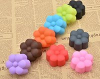 Wholesale Mold Cup - Mini 5cm Silicone Cupcake liner Flower Soft Cake Chocolate Cake Muffin Liners Baking Cup Mold