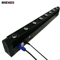 Wholesale beam lighting moving for sale - Group buy LED Bar Beam Moving Head Light RGBW x12W Perfect for Mobile DJ Party nightclub SHEHDS Stage Lighting