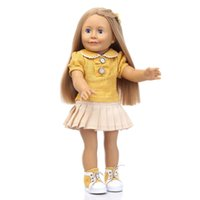 Wholesale American Girl Doll Stand - Popular Very Realistic Vinyl Silicone Reborn Babies Play Toys For Children 18Inch NPK American Sweet Girl Dolls Can Sit Or Stand