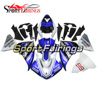 kits de carenado para 99 yamaha r1 al por mayor-Carenados de inyección para Yamaha YZF 1000 R1 2009 2010 2011 2012 2014 YZF-R1 2009 - 2014 ABS Kit de carenado de motocicleta Cubiertas IVECO 99 Azul