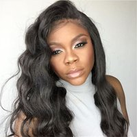 perruque de dentelle humaine achat en gros de-Lace Front Wigs & Full Lace Wigs Body Wave For black women Human Hair Wigs body Wavy beyonce lace front wigs on sale brazilian
