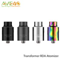 Wholesale Transformer Vaporizer - Vaporesso Transformer RDA Atomizer with Fully Rebuildable Deck Dual Posts Velocity Style Postless Available 100% Original vaporizer
