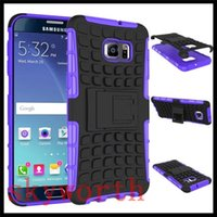 Wholesale Casing Galaxy Core - Spider Kickstand Heavy Duty Rugged TPU PC Case For Samsung Galaxy S7 Edge Note 5 edge A7 A8 Grand G350 Core G360 Sony