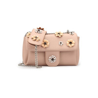 Wholesale Flora Bags - Fashion Flora Lady Crossbody Bag Cute Pink Chains Flap Dimensional carved Adjustable Handle Candy Small Shoulder Bag Handbag WDS568