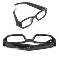 Wholesale Mini Spy Gadgets - 32GB 720P Hidden Mini glasses Camera Mini Sunglasses Camera Eyewear camera video recoder Portable Mini Spy Gadgets