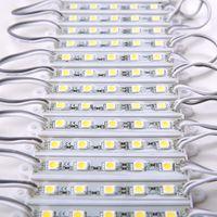 caja de publicidad al por mayor-DC12V 5050 5LEDs Módulos LED luces IP65 a prueba de agua, Módulos de retroiluminación de letreros LED, Módulos de caja de luz publicitaria, 20PCS / Lot
