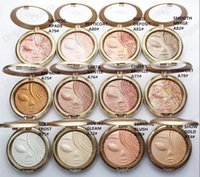 Wholesale Skinfinish Natural - Makeup Face Pressed Powder Riah Carey Shimmer Highlighters Mineralize Skinfinish Baked Powder 10pcs