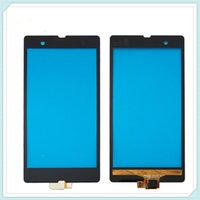 Wholesale Touch Screen Xperia Z - Original Replacement Front Touch Screen with Digitizer Replacement for Sony Xperia Z L36H LT36i Z1 L39h C6902 C6903 Z1 Compact Mini D5503