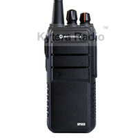 Wholesale Headset Ptt - Wholesale-GP660 Professional Walkie Talkie 8W Power 4000mAh UHF 400-480MHz Long Range PTT Portable Two Way Radio + Headset for Motorola