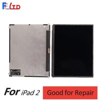 Wholesale ipad parts lcd resale online - Original Repair Parts for iPad LCD Display Digitizer with Flex Cable Replacement Part inch Free DHL Shipping