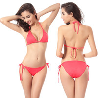 Wholesale Classical Clothing For Women - Sexy lingerie swimwear for women summer beach BIKINI 2016 Swimwear Women's Clothing swimsuit multicolor classical style 437