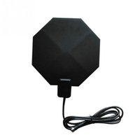 Wholesale Notebook Antenna - Indoor TV Antenna Long Range 450-860MHz Amplified HD 1080p Flat Home UHF Digital Analog TV Antenna For PC Notebook DTV HDTV