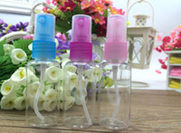 Wholesale Cheapest Perfume Wholesaler - Free Shipping 30ML PET Bottles Plastic Spray BottleS of Perfume Bottles Clear bottle 1300pcs Lot with Cheapest Price