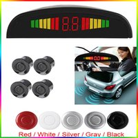 Wholesale Small Parking Sensors - Smart and Small Ultrasonic Car Reverse Parking Sensor System with Audible Alarm & 5 Optional Sensor Colors CAL_200
