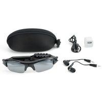 26c495d6b34c4 Spy Hidden Sunglasses Camera 4 em 1 MP3 Player óculos Hidden Eyewear Cam  Esportes DVR Recorder Foto Tomando para recreação ao ar livre